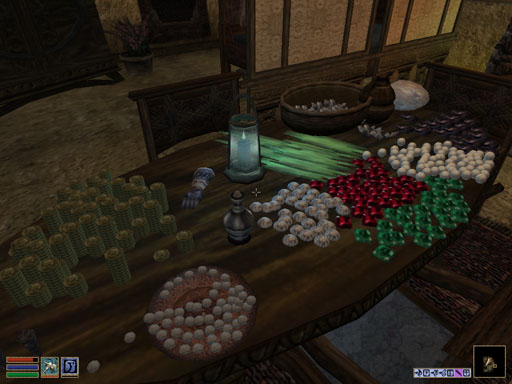 Who says you can't put 50 pearls on a table?