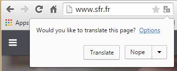 SFR site